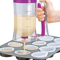 Chuzy Chef® Cake Batter Dispenser With Measuring Label