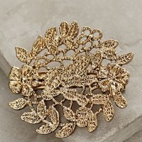Filigree Clip by Anthropologie Gold One Size Hair
