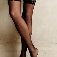 Fogal Caresse Stockings Black