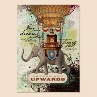 Onward and Upwards (Poster) from Zazzle.com