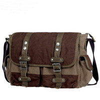 Forester canvas crossbody tool satchels bags for men from Vintage rugged canvas bags
