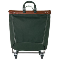 Canvas Laundry Cart - Olive