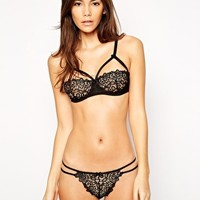 ASOS Millie Corded Lace Underwired Set at asos.com