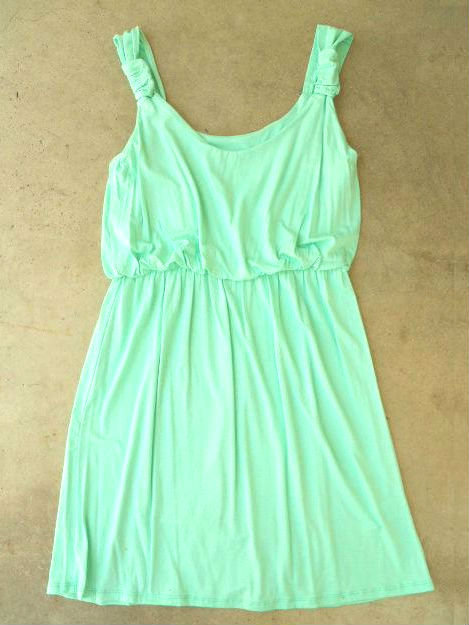 A Lovely Summer Dress in Mint [2704] - $32.00 : Vintage Inspired Clothing & Affordable Summer Dresses, deloom | Modern. Vintage. Crafted.