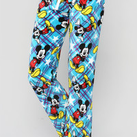MICKEY MOUSE STAR PRINT PJS