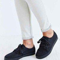 The People's Movement Tonal Black Marcos Sneaker- Black