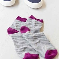 Classic Waffle Ankle Sock-
