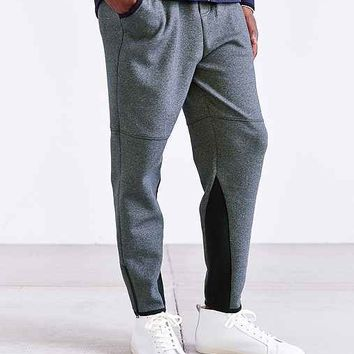 Feathers Bonded Knit Pant- Charcoal