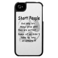 Funny Short People Revenge. Iphone 4 Cases from Zazzle.com