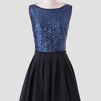 Constellation Sequins Dress