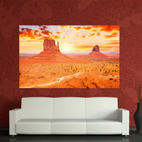 USA valley sunset canvas print canvas home decoration