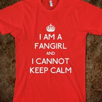I Am a Fangirl and I Cannot Keep Calm - One Direction Designs
