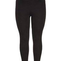 the skinny knit pant in plus size with elastic waist