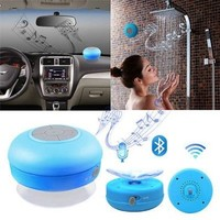 Generic Mini Portable Waterproof Wireless Bluetooth Speaker, Blue