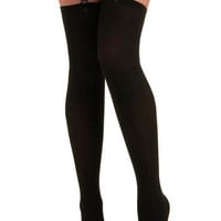 Suspended Style Thigh Highs | Mod Retro Vintage Tights | ModCloth.com