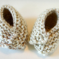 Baby Booties Fortune Cookie Style