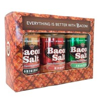 J&D's Bacon Salt 3-Pack - Includes Original, Hickory and Jalapeno