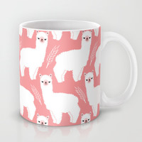 The Alpacas II Mug by Littleoddforest