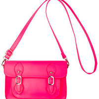 Jenny Neon Pink Crossbody