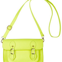 Jenny Neon Yellow Crossbody