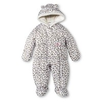 Just One You™ Made by Carter's® Newborn Girls' Leopard Spot One Piece Snowsuit