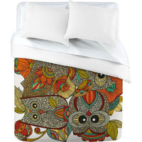 DENY Designs Home Accessories | Valentina Ramos 4 Owls Duvet Cover