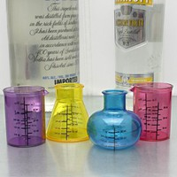 Mad Scientist Shot Glass Set, 4 pcs