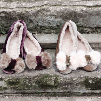 Blissful Ballerina Slippers