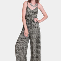 When In Rome Printed Jumpsuit