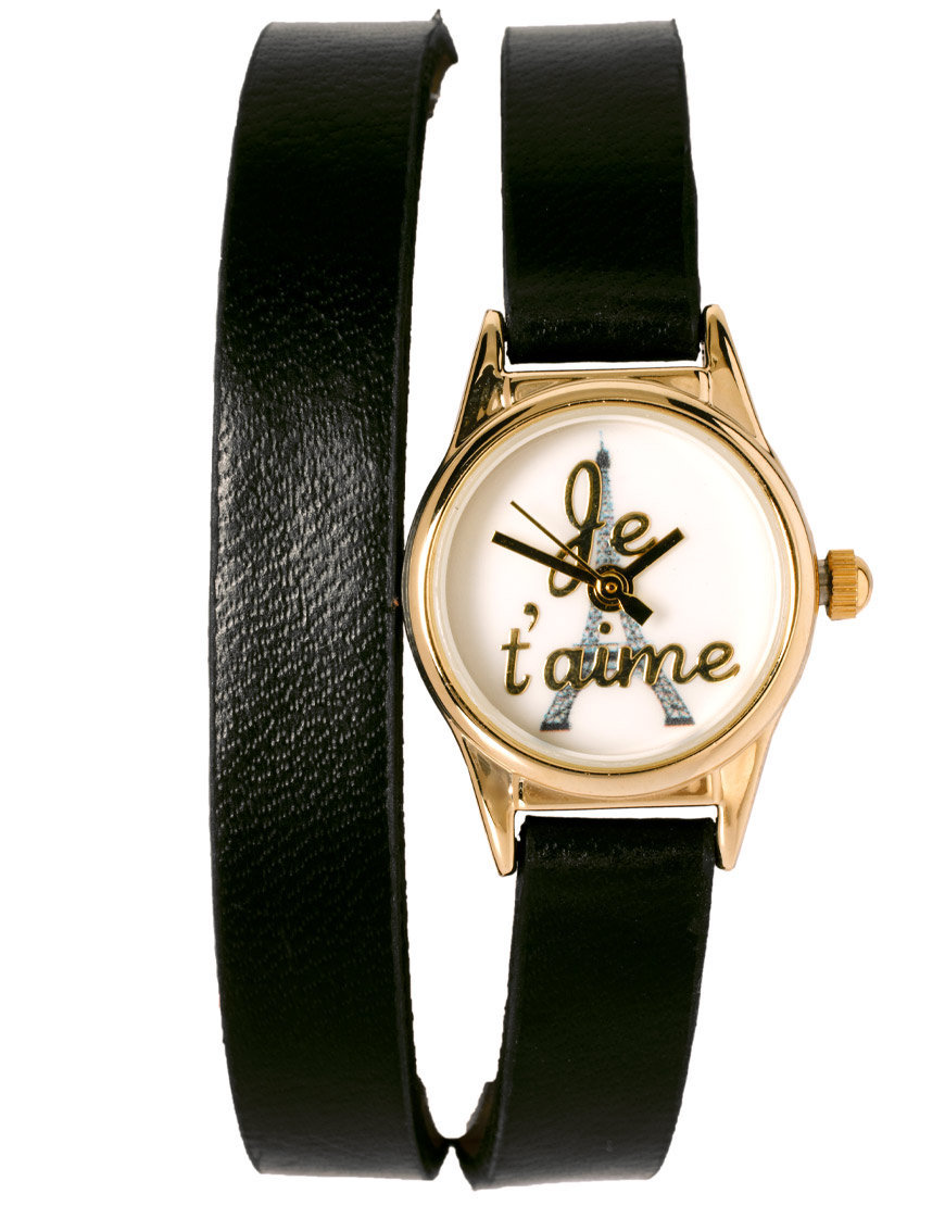 Je T'aime Wraparound Watch