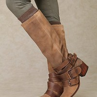 Free People Leone Triple Buckle Boot