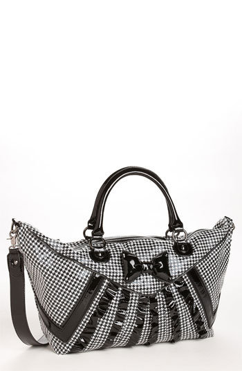 Betsey Johnson &#x27;Tuxedo Park&#x27; Satchel | Nordstrom