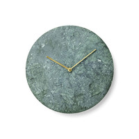 Set in Stone Wall Clock in Green