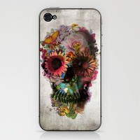 SKULL 2 iPhone & iPod Skin by Ali GULEC | Society6