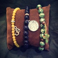 La Fede Boutique | Zodiac, Om & Cross Bracelets | Online Store Powered by Storenvy