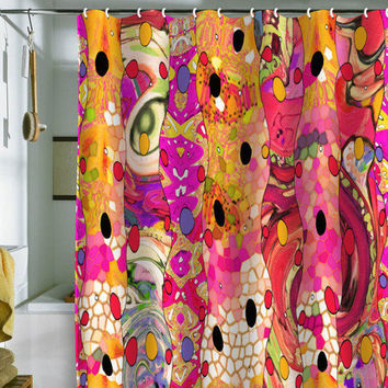 Ingrid Padilla Whimsyeye Shower Curtain