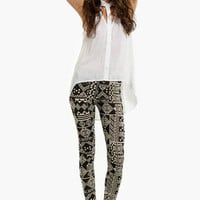 Batik Art Leggings $18 (on sale from $26)