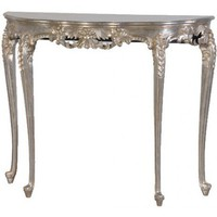 Verona Silver Hall Console Table - Sweetpea & Willow London