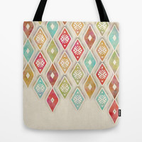 hanging ornaments Tote Bag by spinL