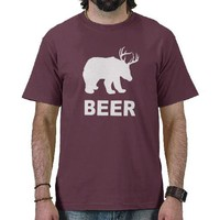 Bear Deer Beer?  T-shirt from Zazzle.com