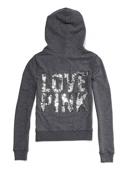 Bling Perfect Zip Hoodie - Victoria&#x27;s Secret PINK - Victoria&#x27;s Secret