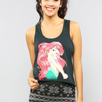 Little Mermaid Crop Tank