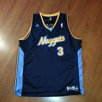 Allen Iverson Denver Nuggets Jersey Size 2XL NBA VTG from Deadstock Dynasty