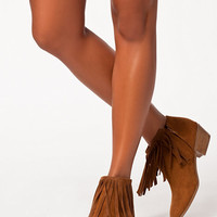 Fringe Detail Boot, NLY Shoes