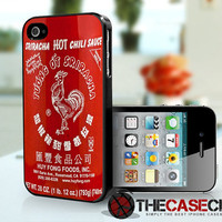Sriracha Hot Sauce iPhone 4s and iPhone 4 Case, Cover