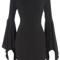 Black drape sleeve dress - Limited Edition Clothing - Clothing - Dorothy Perkins