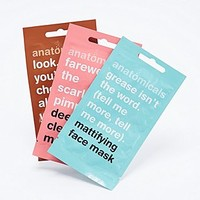 Anatomicals Face Mask Trio - Urban Outfitters