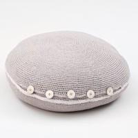 Crocheted Pillow/Pouf - €69.95 : le souk, unique living