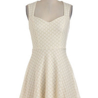 Box of Powdered Donuts Dress | Mod Retro Vintage Dresses | ModCloth.com
