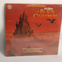 Rare Sealed Vinyl Record - The Black Cauldron Soundtrack LP Album 1985 Disney Elmer Bernstein Classical Score